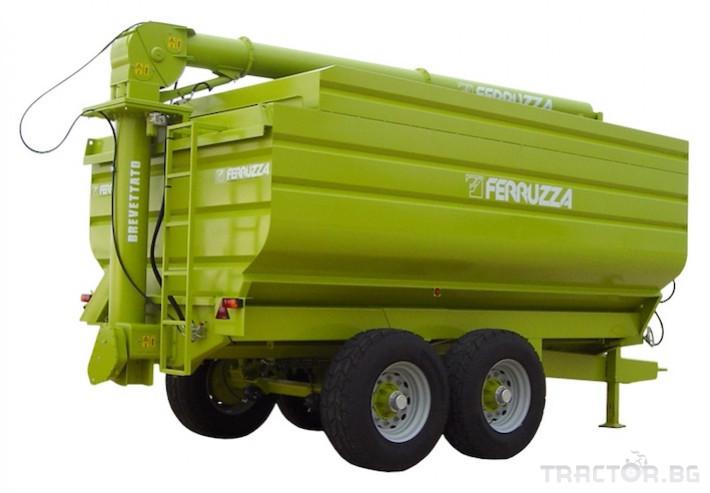 Ремаркета и цистерни Ferruzza саморазтоварващо ремарке серия LG 0 - Трактор БГ