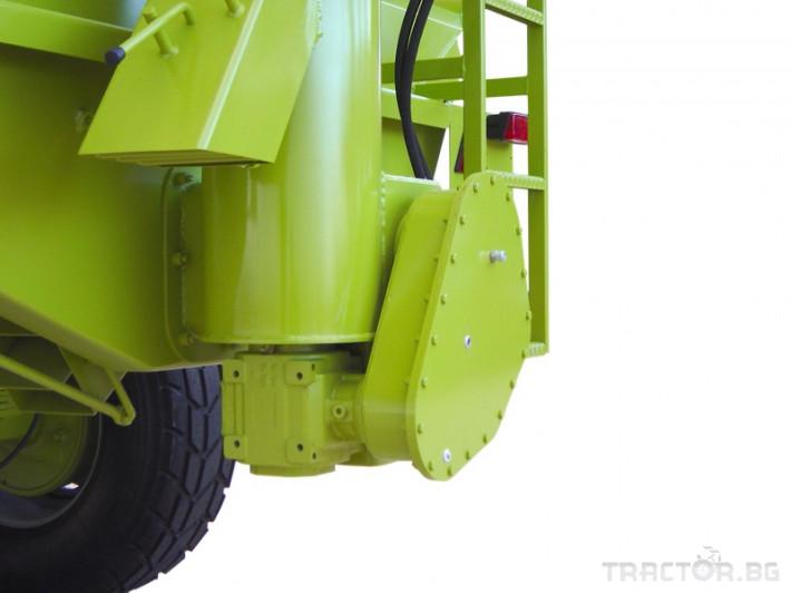 Ремаркета и цистерни Ferruzza саморазтоварващо ремарке серия LG 1 - Трактор БГ