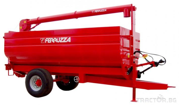 Ремаркета и цистерни Ferruzza саморазтоварващо ремарке серия LG 3 - Трактор БГ