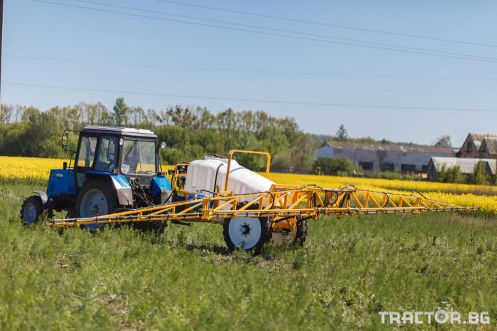 Пръскачки Boguslav прикачна пръскачка Odyssey - 18 м 2 - Трактор БГ