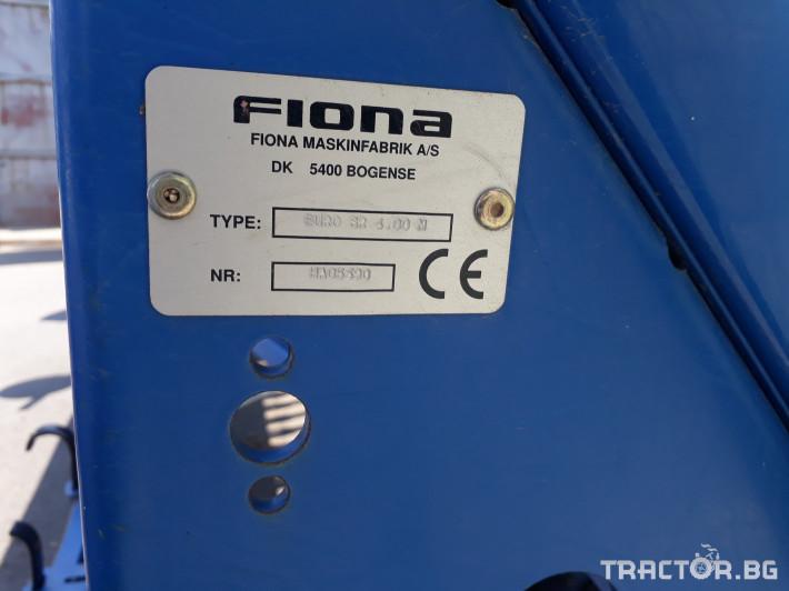 Сеялки Fiona есенна сеялка EURO SR 4.00 m. 3 - Трактор БГ